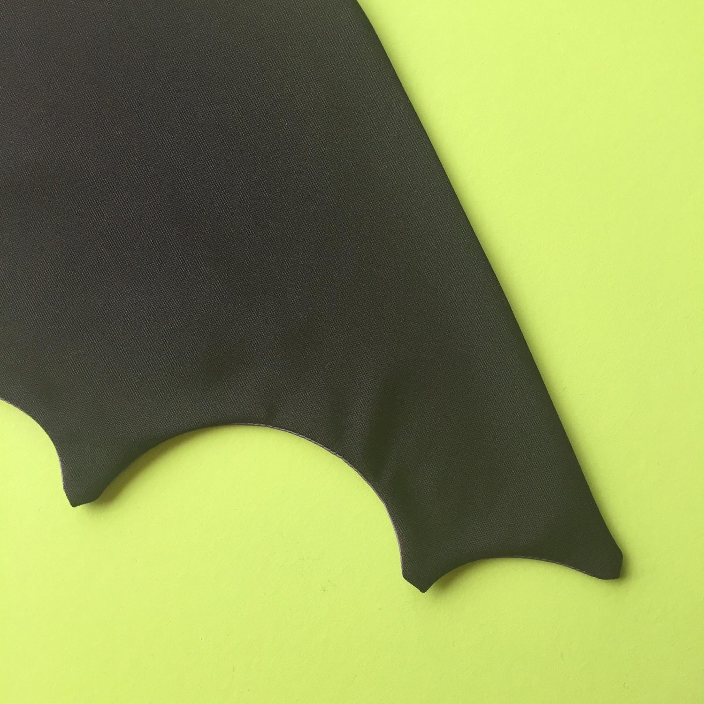 Baby bat Halloween costume DIY step 3 | Hello! Hooray!