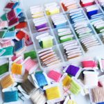 Reorganising my embroidery thread