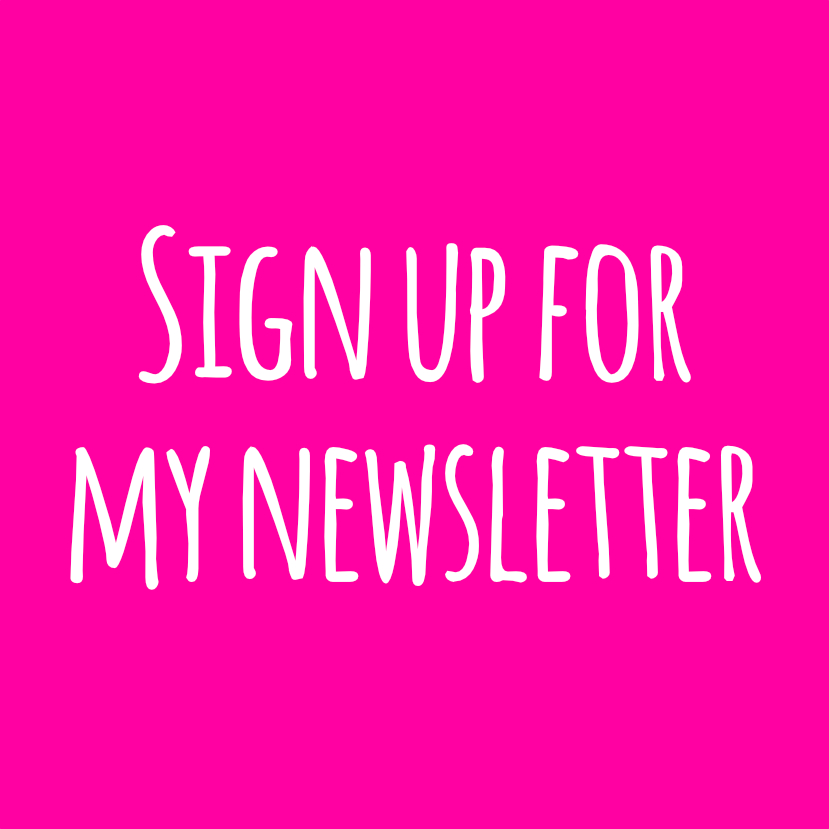 Hello! Hooray! newsletter sign up