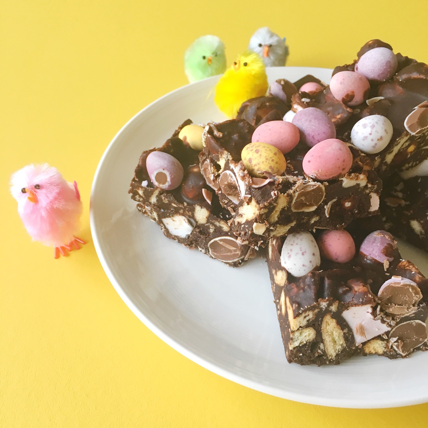Mini egg rocky road | Hello! Hooray!