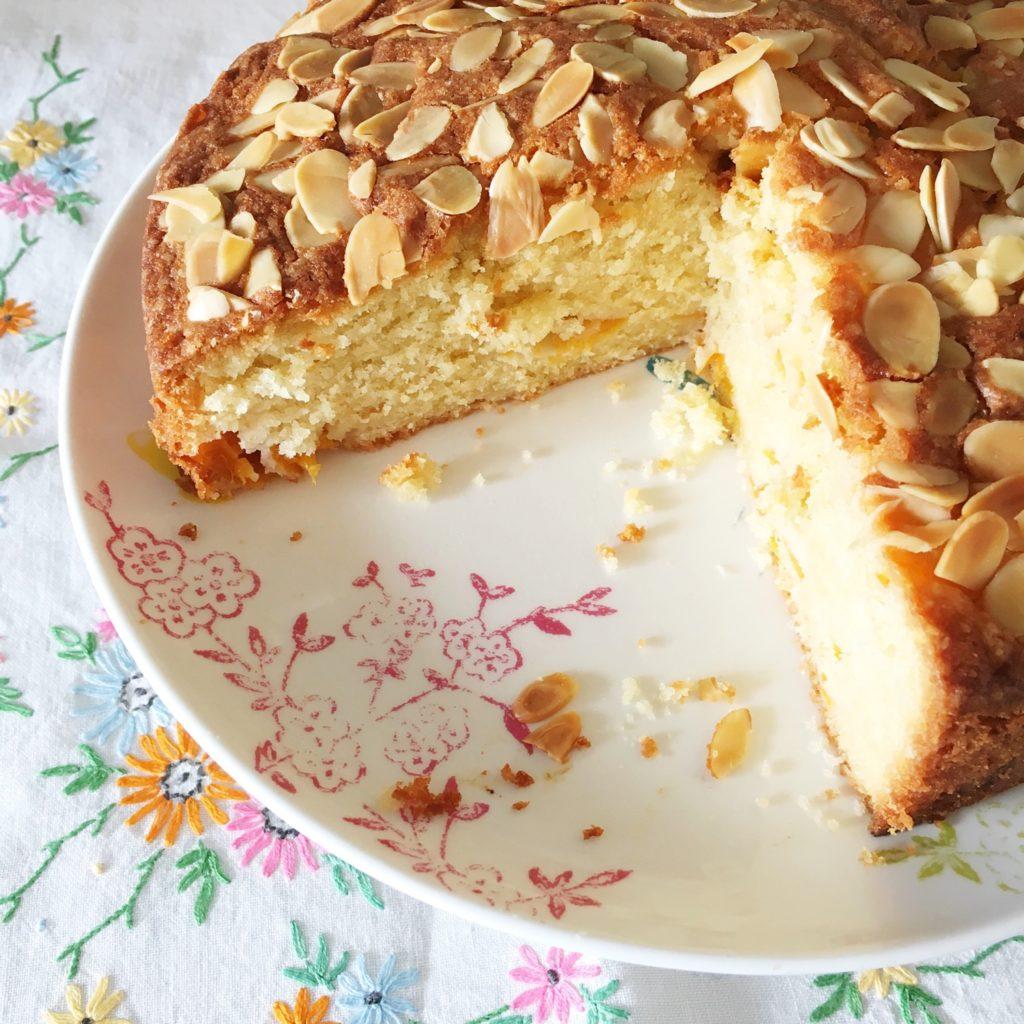 Almond and apricot cake | Hello! Hooray!