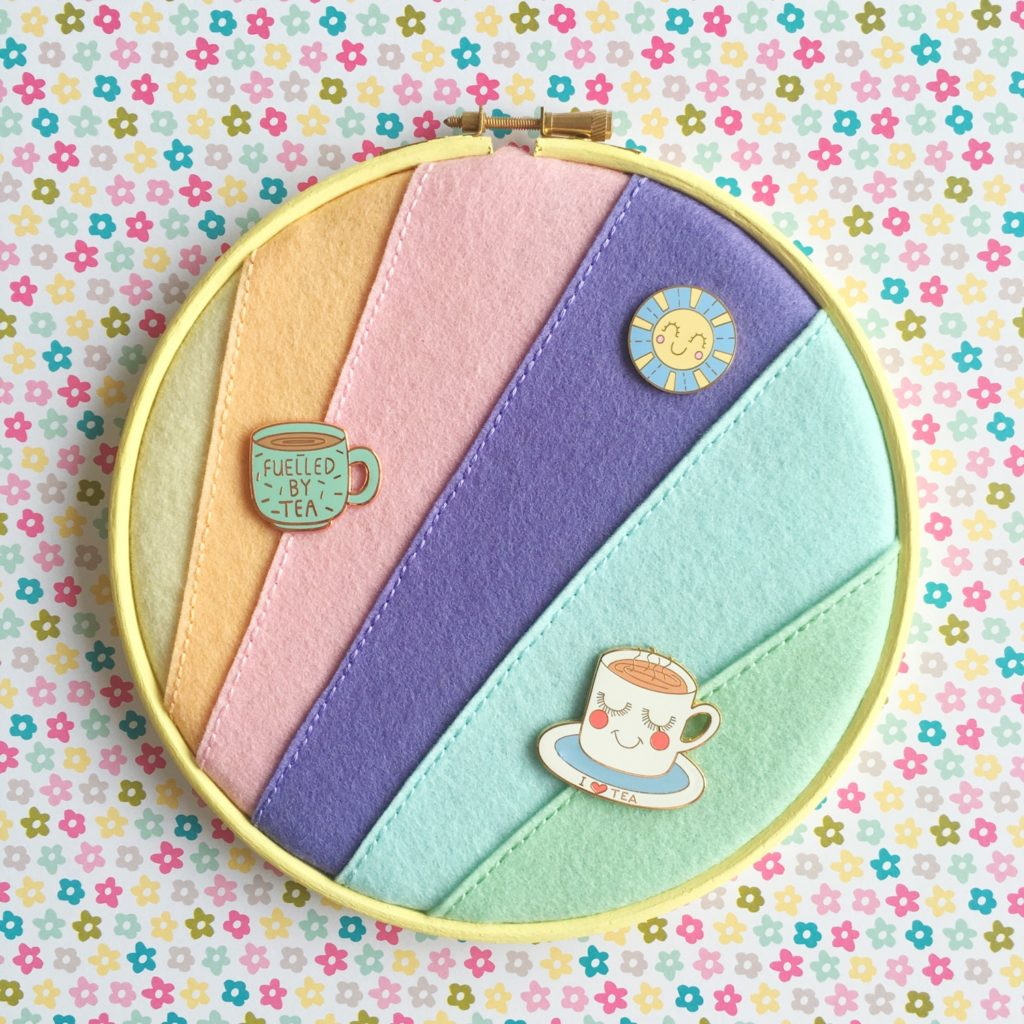 Crafty Colour Palette #2 pastel pin hoop | Hello! Hooray!