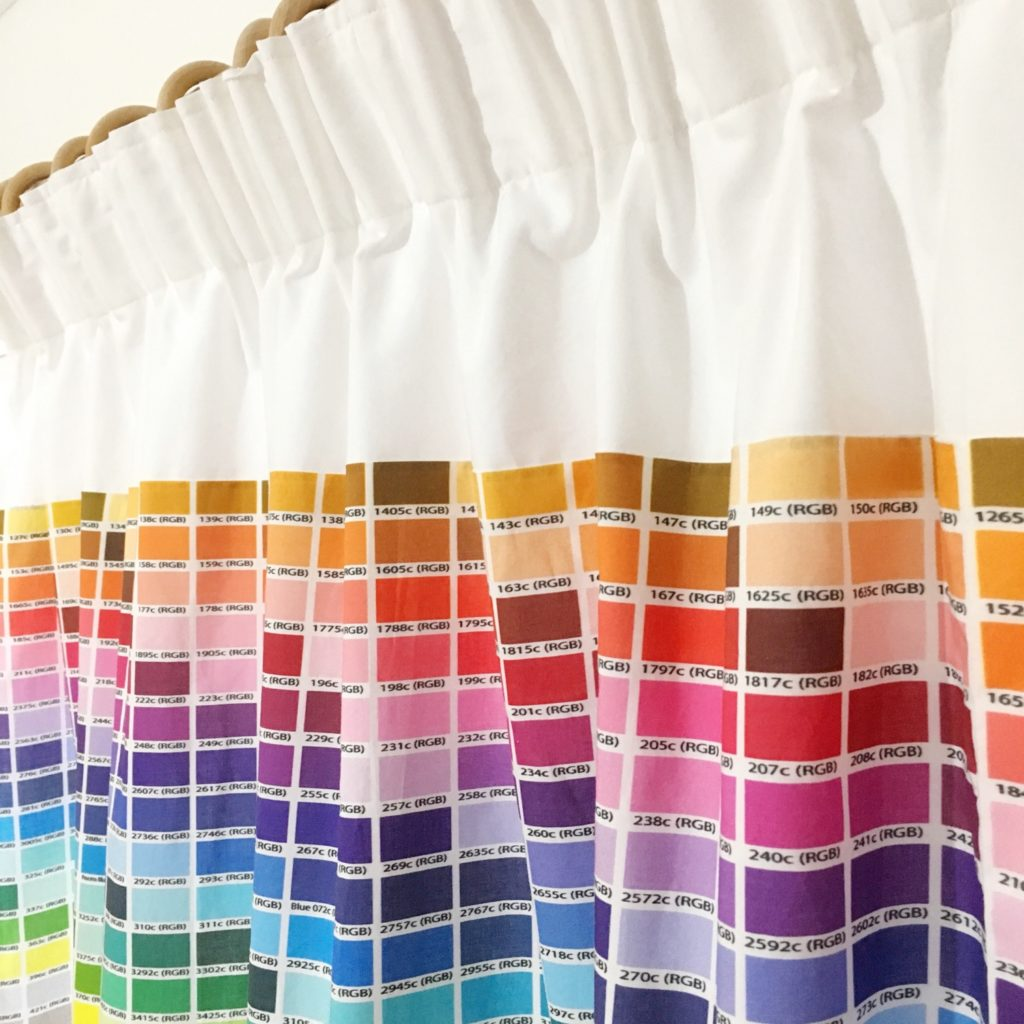 Pantone colour chart curtains | Hello! Hooray! 3