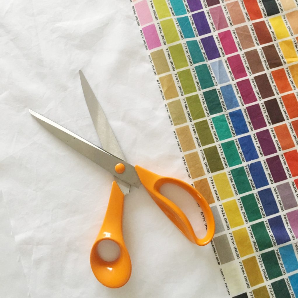Sewing my Pantone colour chart curtains 6 | Hello! Hooray!