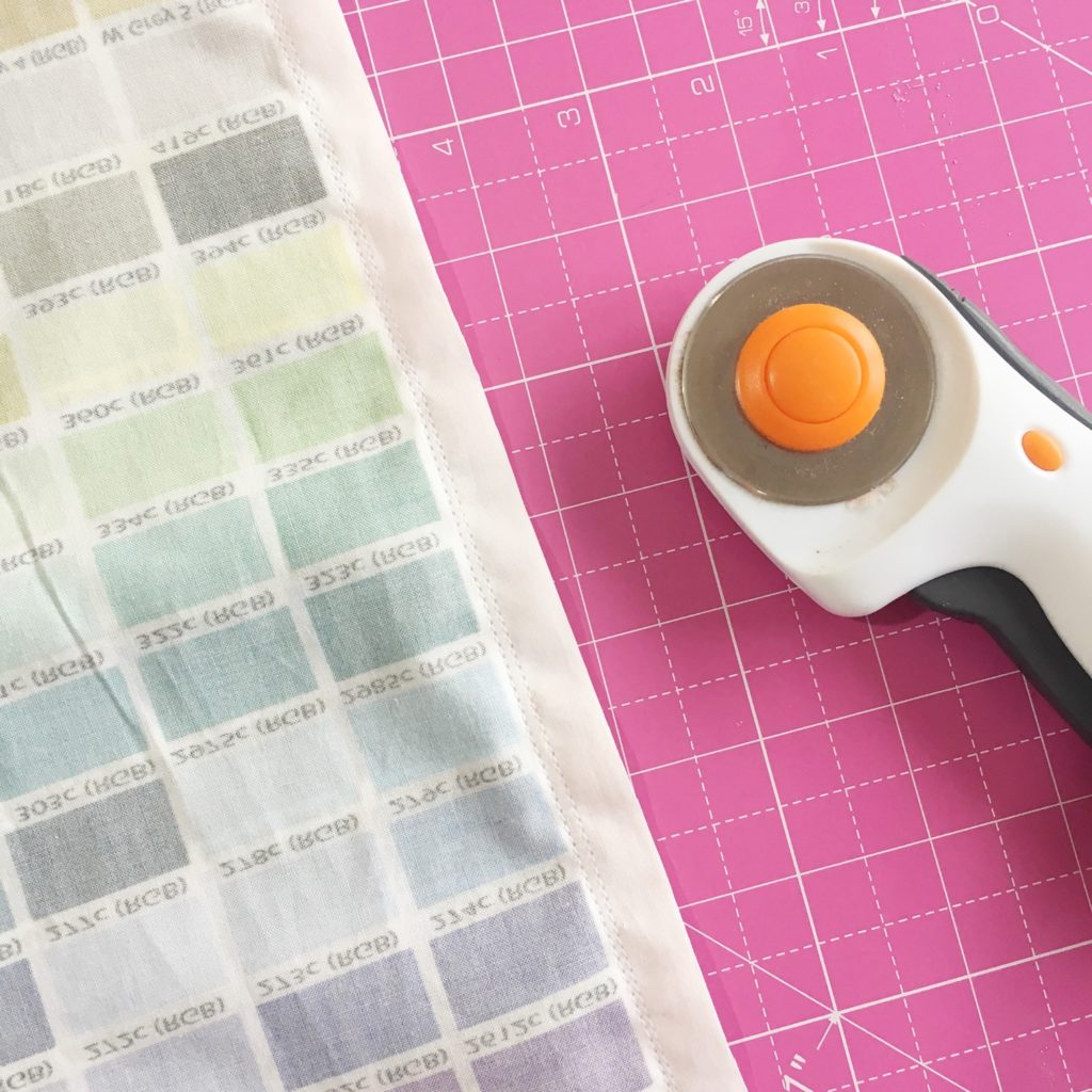 Sewing my Pantone colour chart curtains | Hello! Hooray!