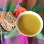 Spicy parsnip soup