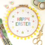 Happy Easter Hoop from Hannah Handmakes