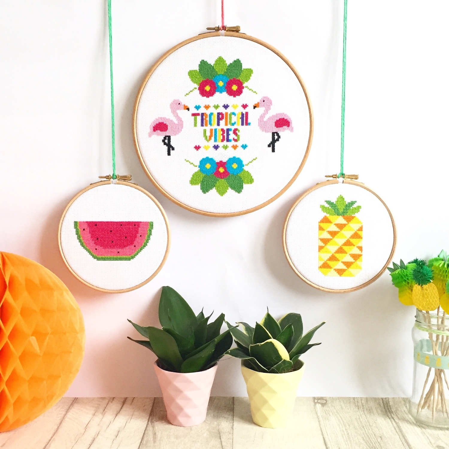 A natter with Hannah from Hannah Hand Makes | tropicana gift set