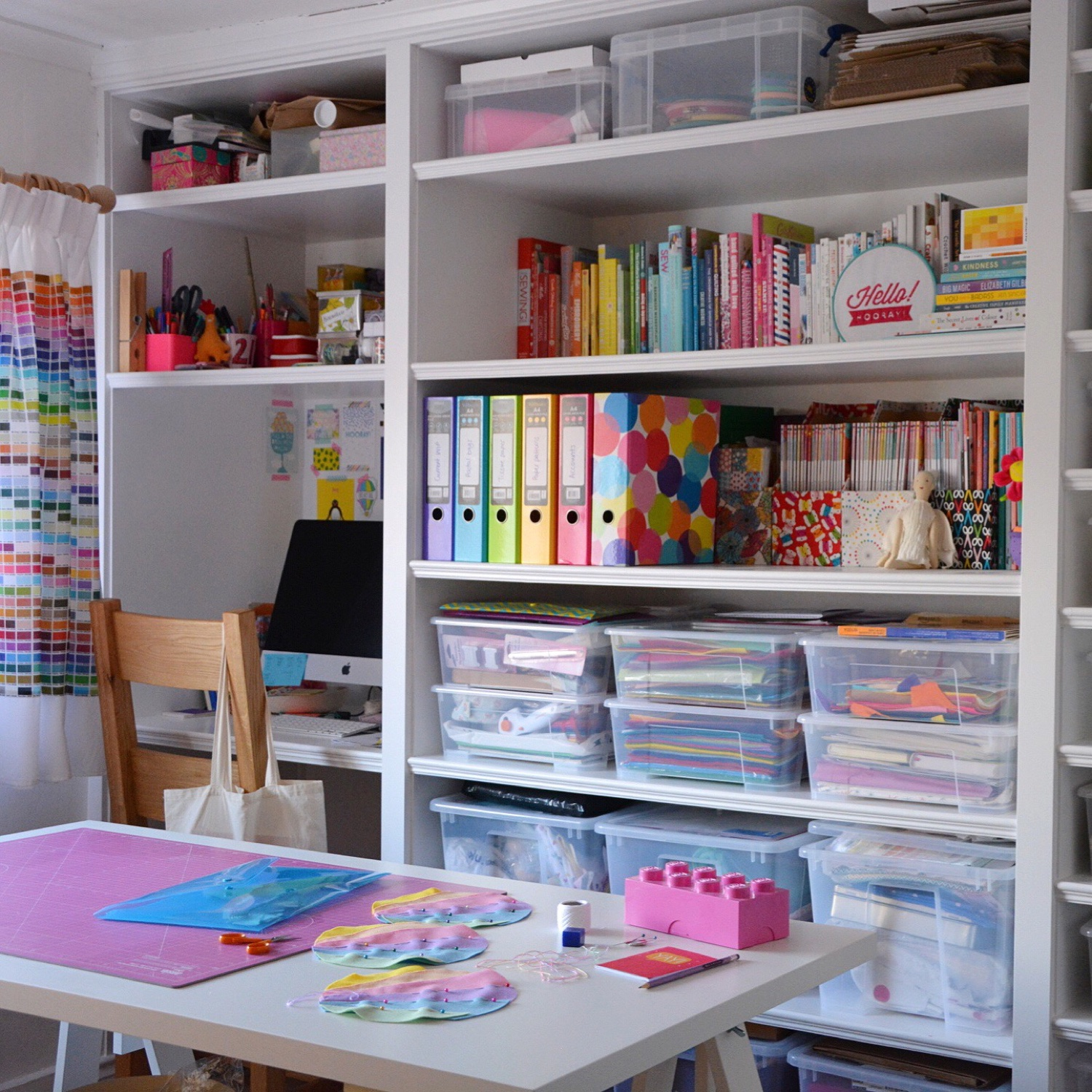 Colourful craft room | Hello! Hooray!