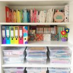 Colourful craft room tour
