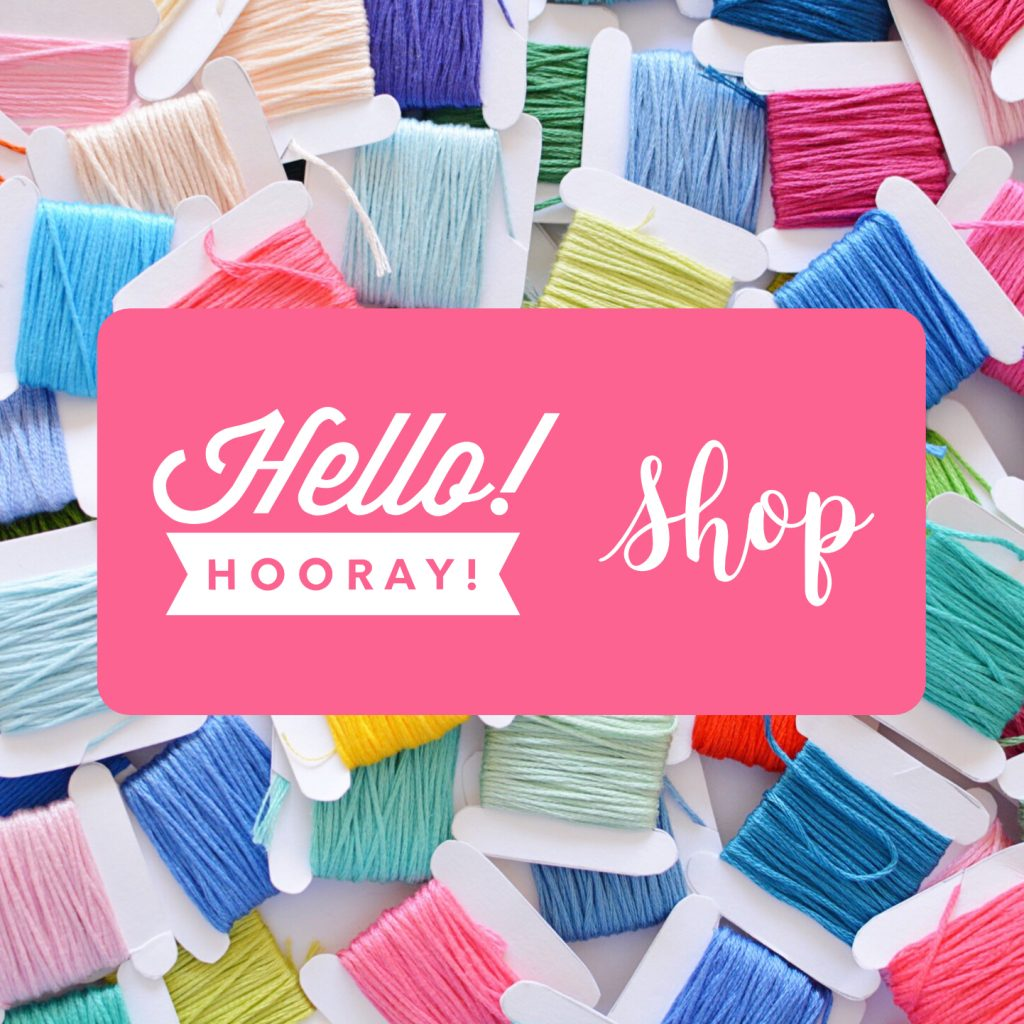 Hello! Hooray! shop widget