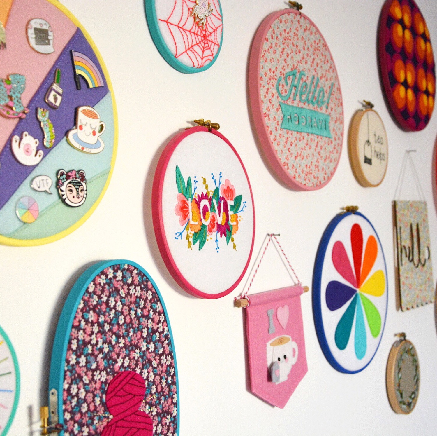 Hoop wall | Hello! Hooray!