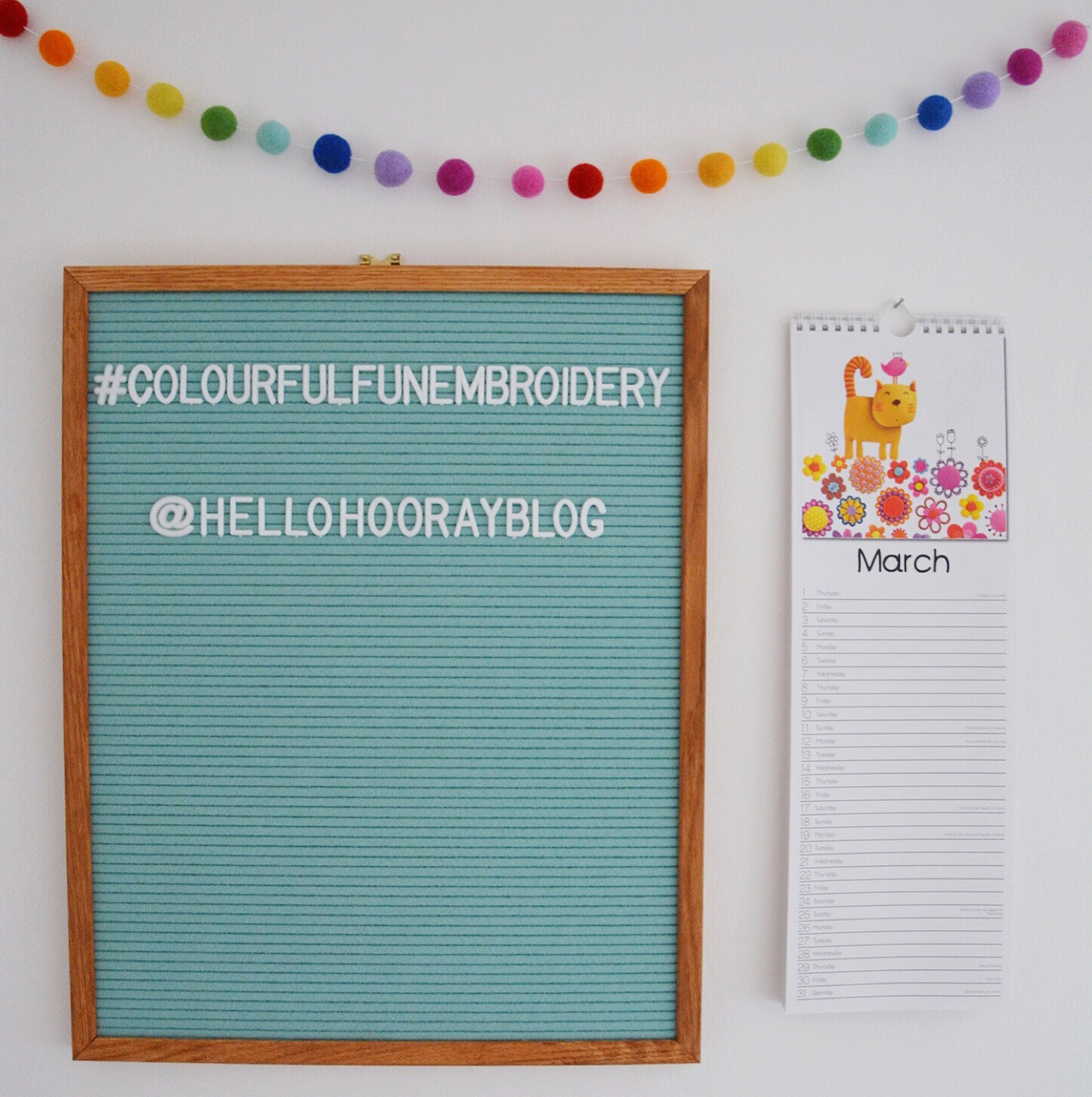 Letter board | Hello! Hooray!