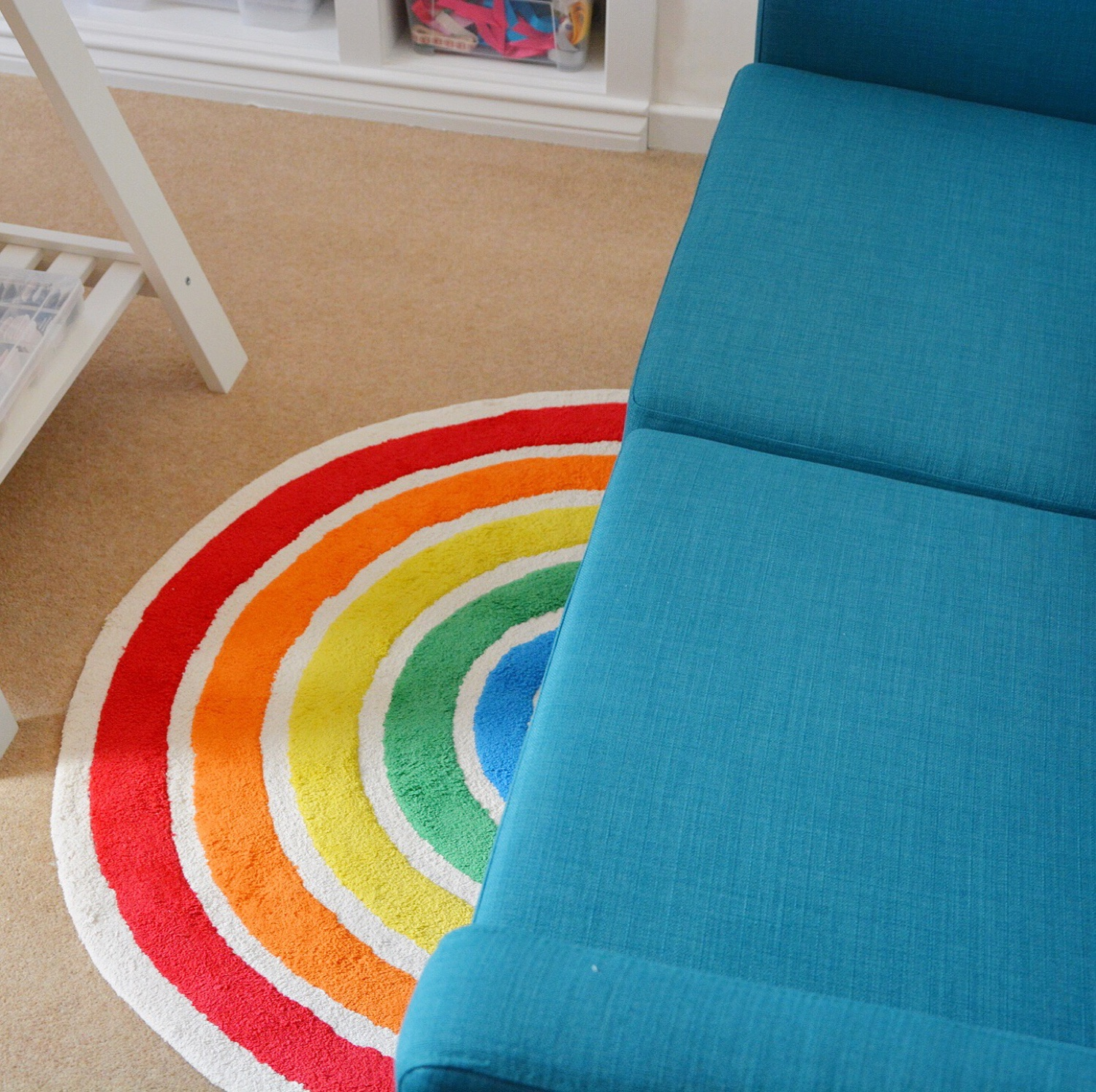 Rainbow rug! | Hello! Hooray!
