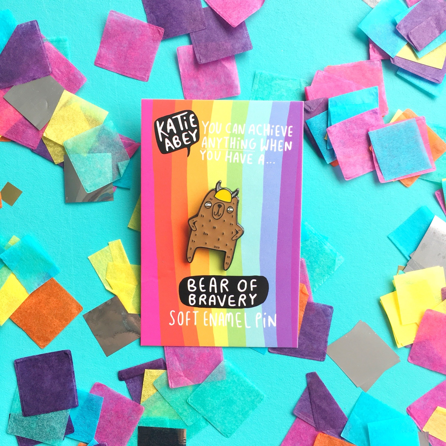 Katie Abey YAYmakers pin | Hello! Hooray!