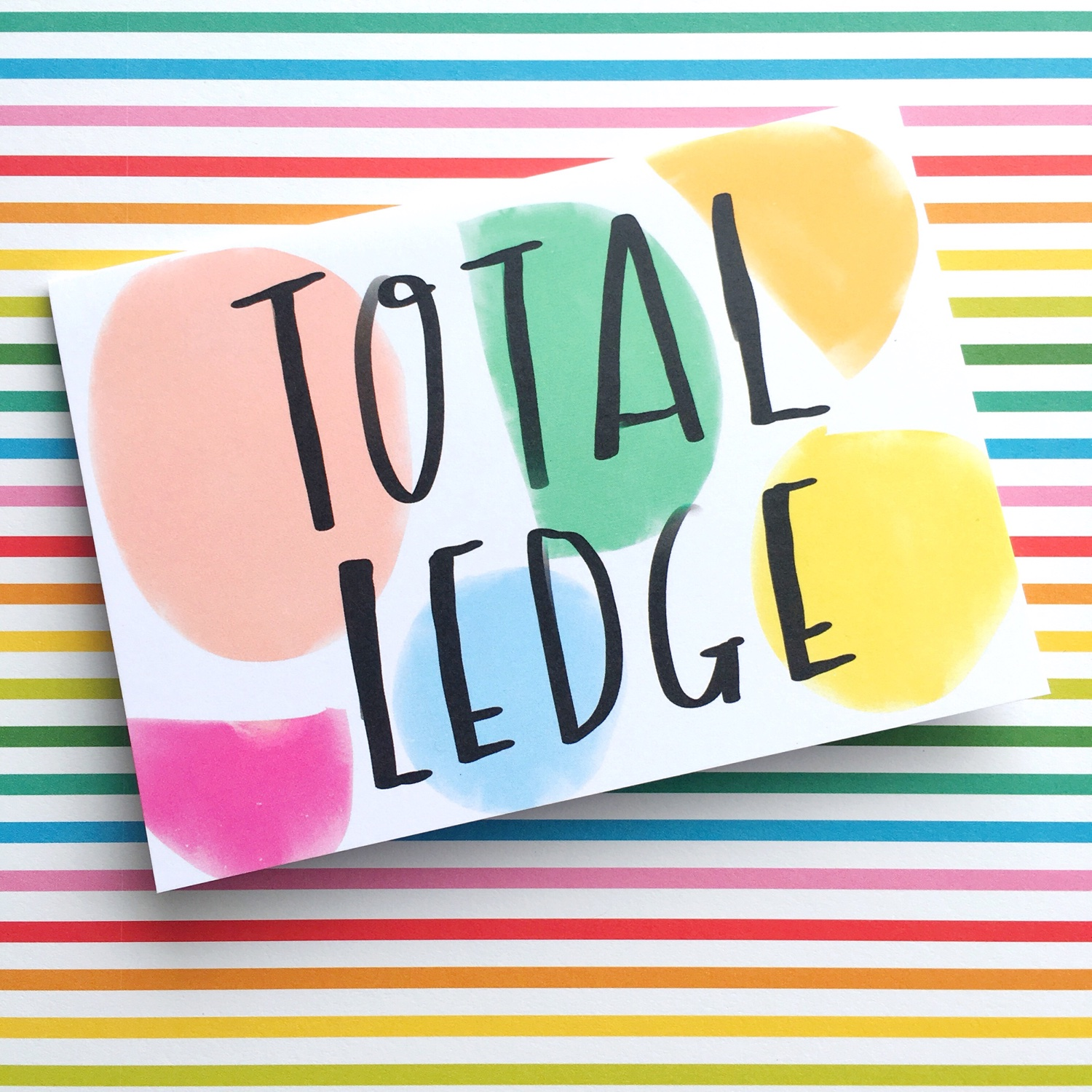 Nicola Rowlands 'Total Ledge' | Hello! Hooray!