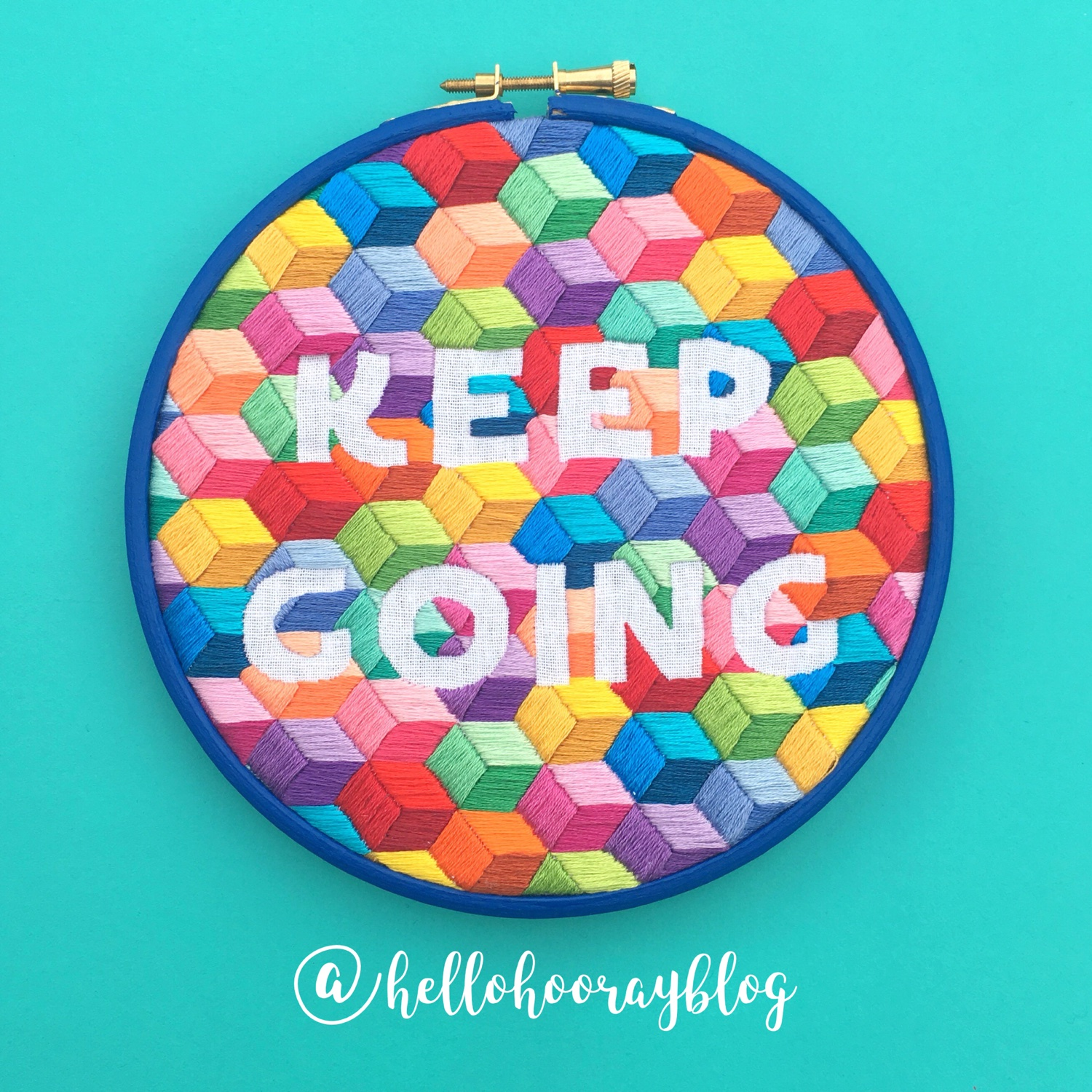 Indie Rollercoaster Keep Going hoop | Hello! Hooray!