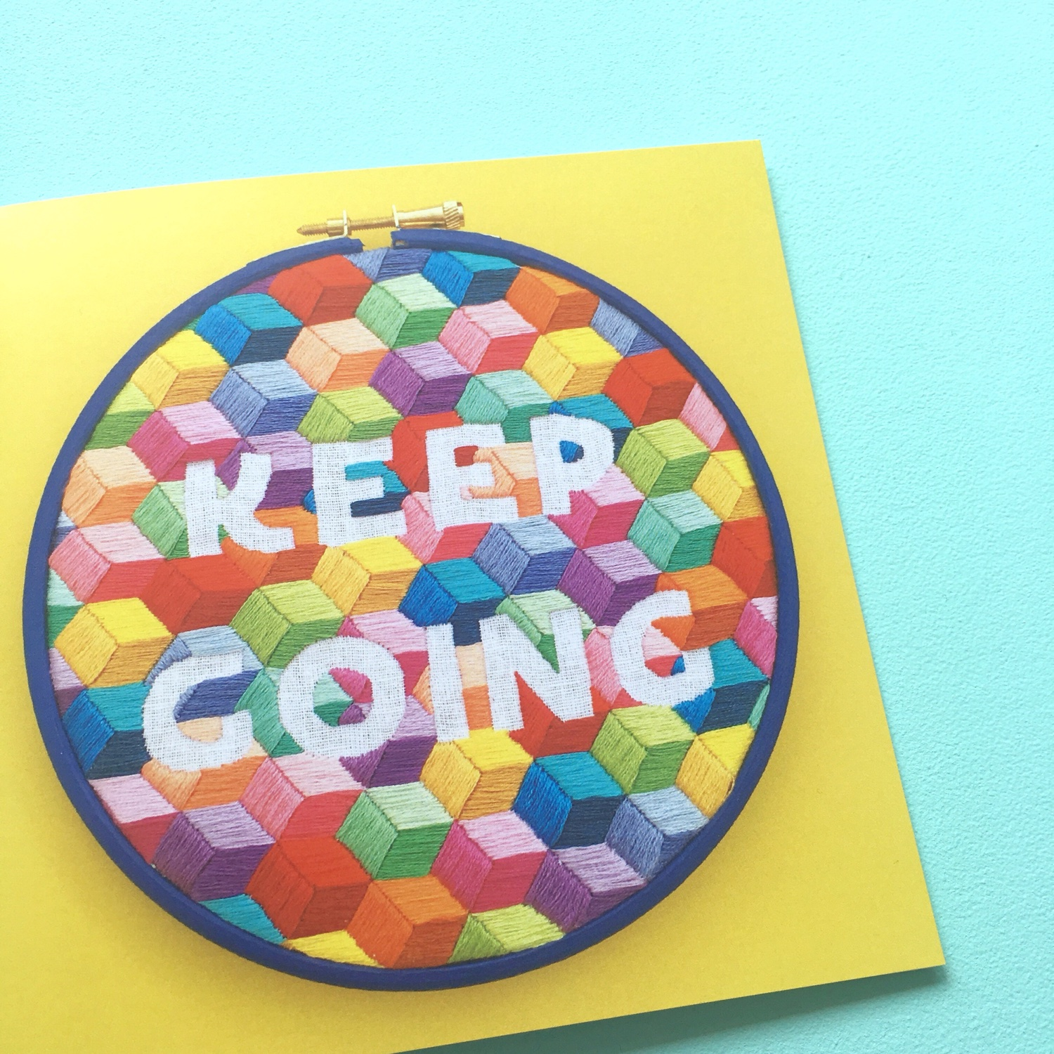 Keep Going yellow card | Hello! Hooray!
