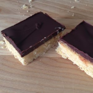 Chocolate and salted caramel squares | Hello! Hooray!