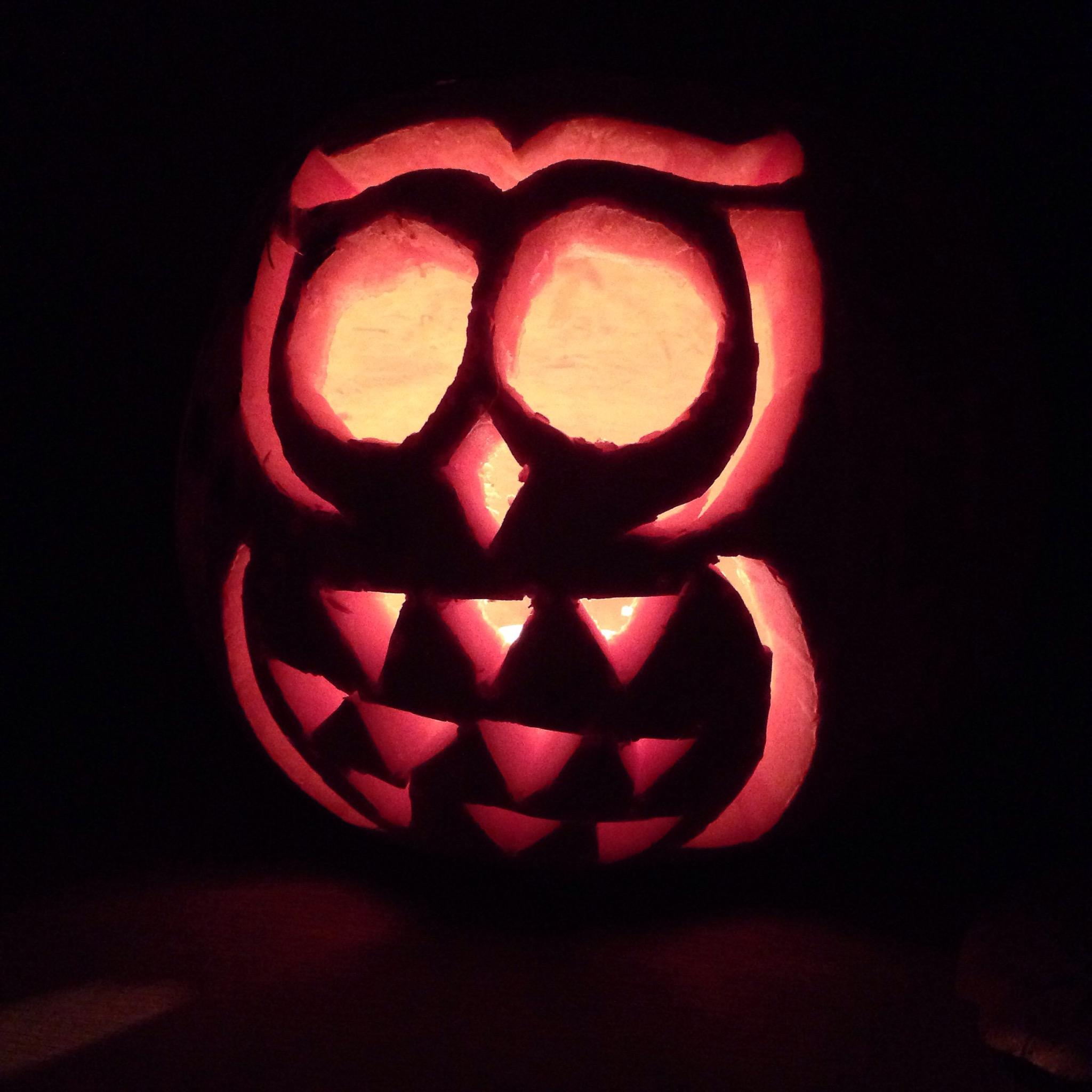 Owl pumpkin | Hello! Hooray!
