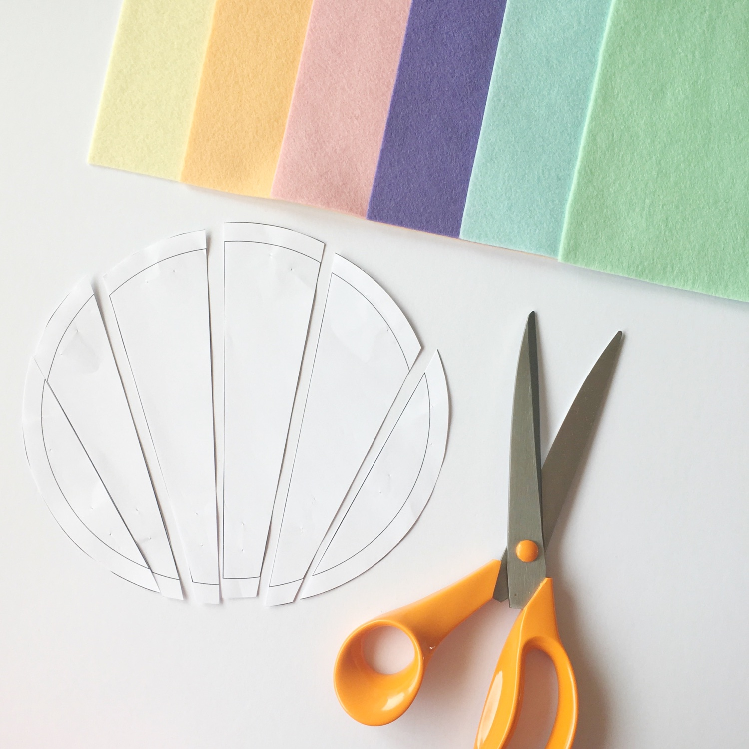 Crafty Colour Palette #2 Step 1 | Hello! Hooray!