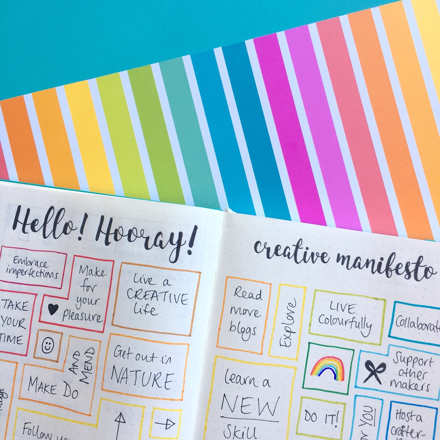 Hello! Hooray! Creative manifesto