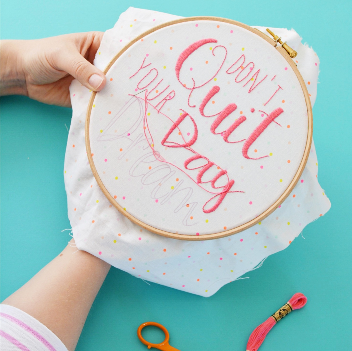 Workshop stitching | Hello! Hooray!