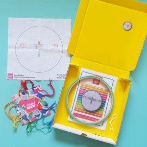 Rainbow Angel hand embroidery kit | Hello! Hooray!