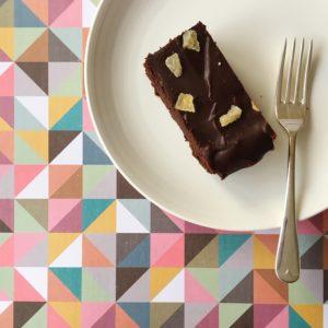 Chocolate gingerbread brownies with fudgy icing | Hello! Hooray!
