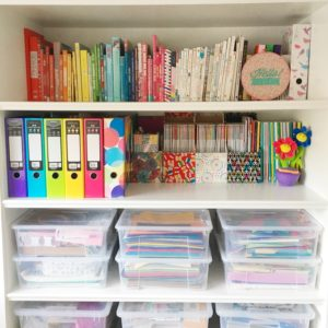 Colourful craft room tour   Hello! Hooray!