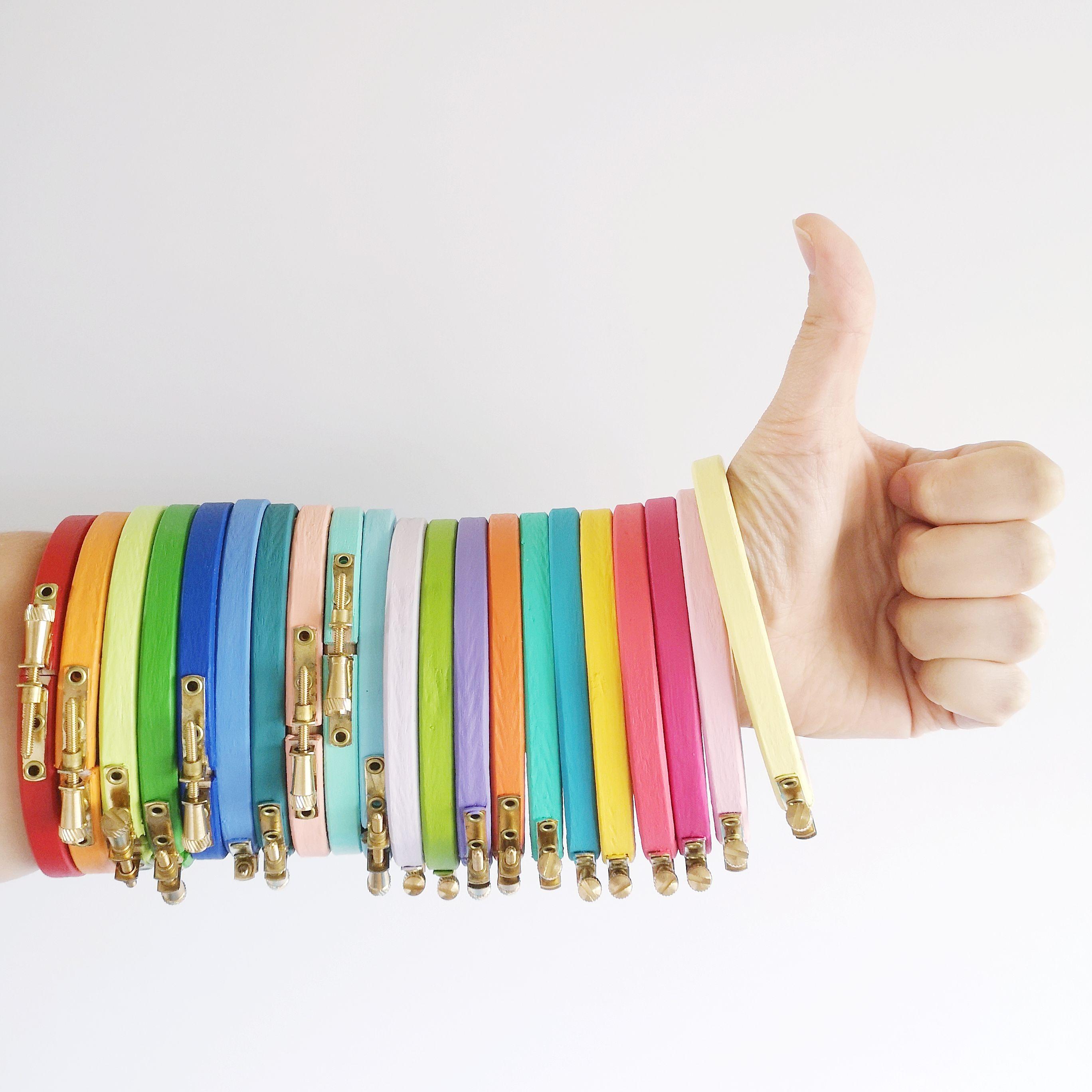 Custom hoop colours | Hello! Hooray!