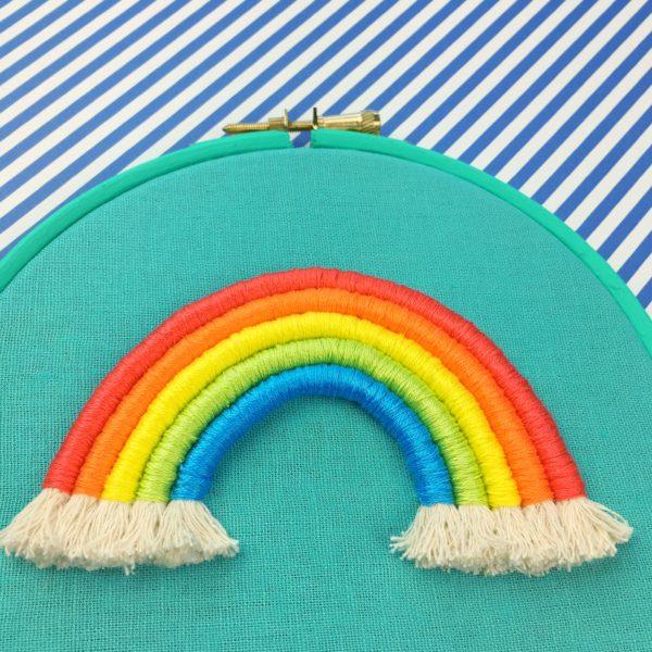 Brights rope rainbow hoop | Hello! Hooray!