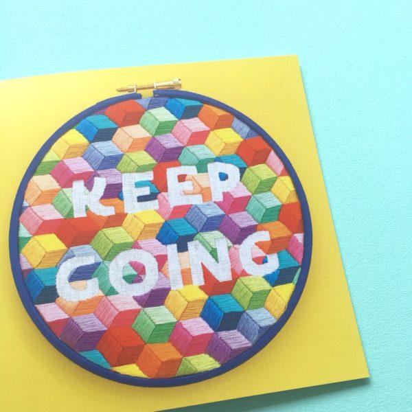 Keep Going yellow card | Hello! Hooray!