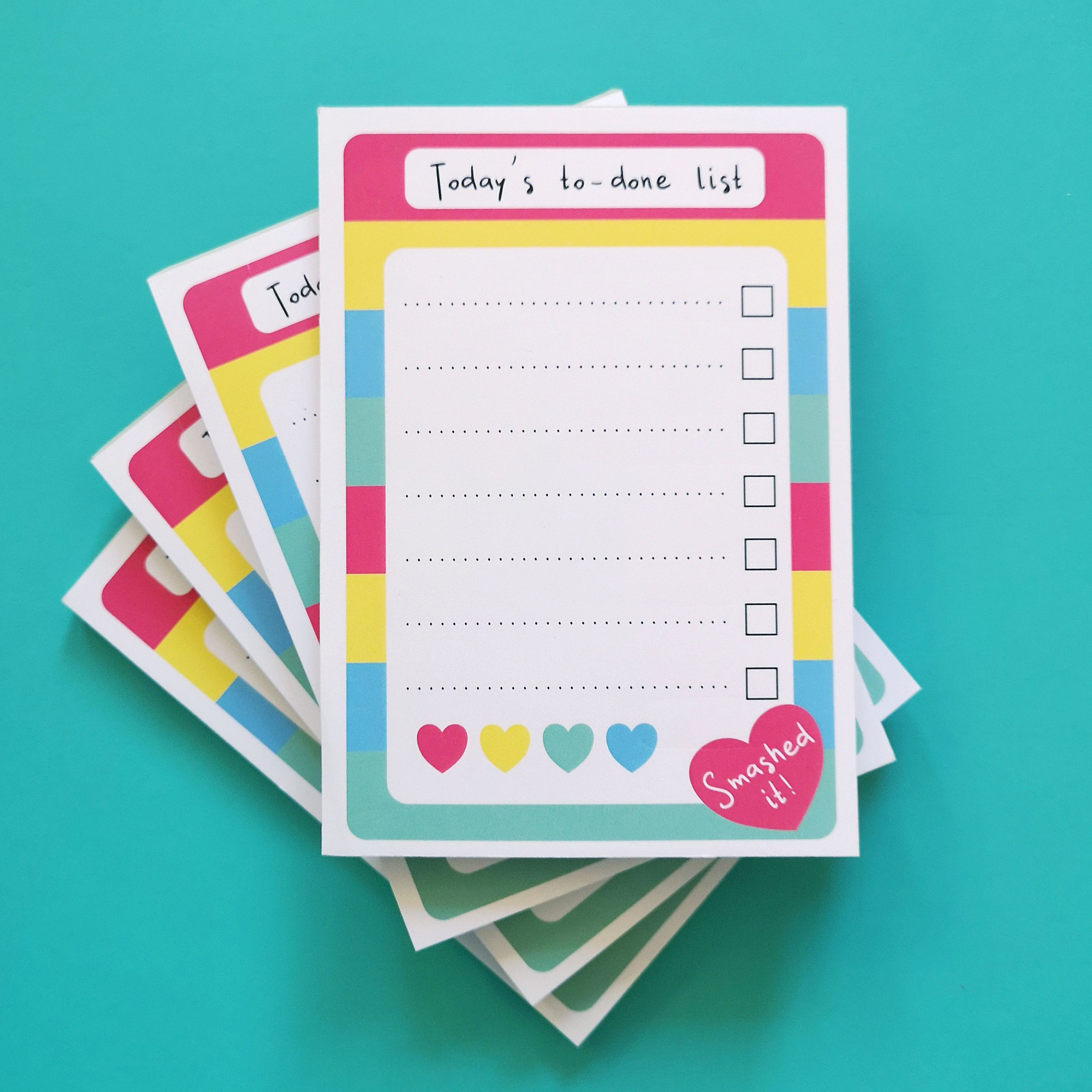 To done list notepad | Hello! Hooray!