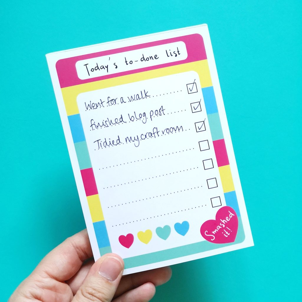 The Magic of the to-done list | Hello! Hooray!