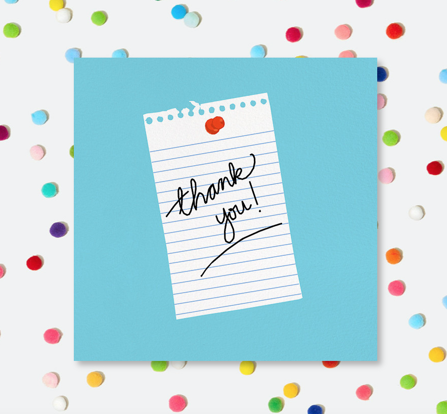 Say Thank You with Paperless Post | Hello! Hooray!