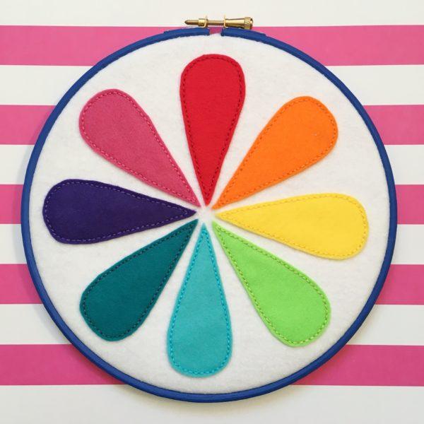 Colour wheel hoop | Hello! Hooray!