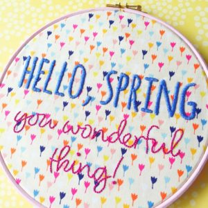 Hello Spring You Wonderful Thing | Hello! Hooray!
