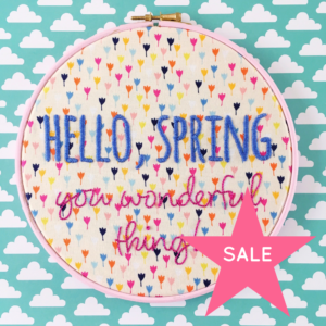 SALE Hello Spring You Wonderful Thing | Hello! Hooray!