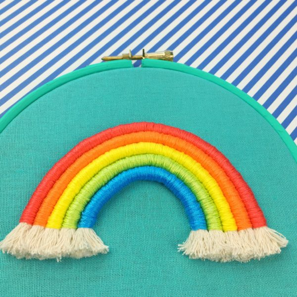 Love of the North Rope rainbow workshop   Hello! Hooray!