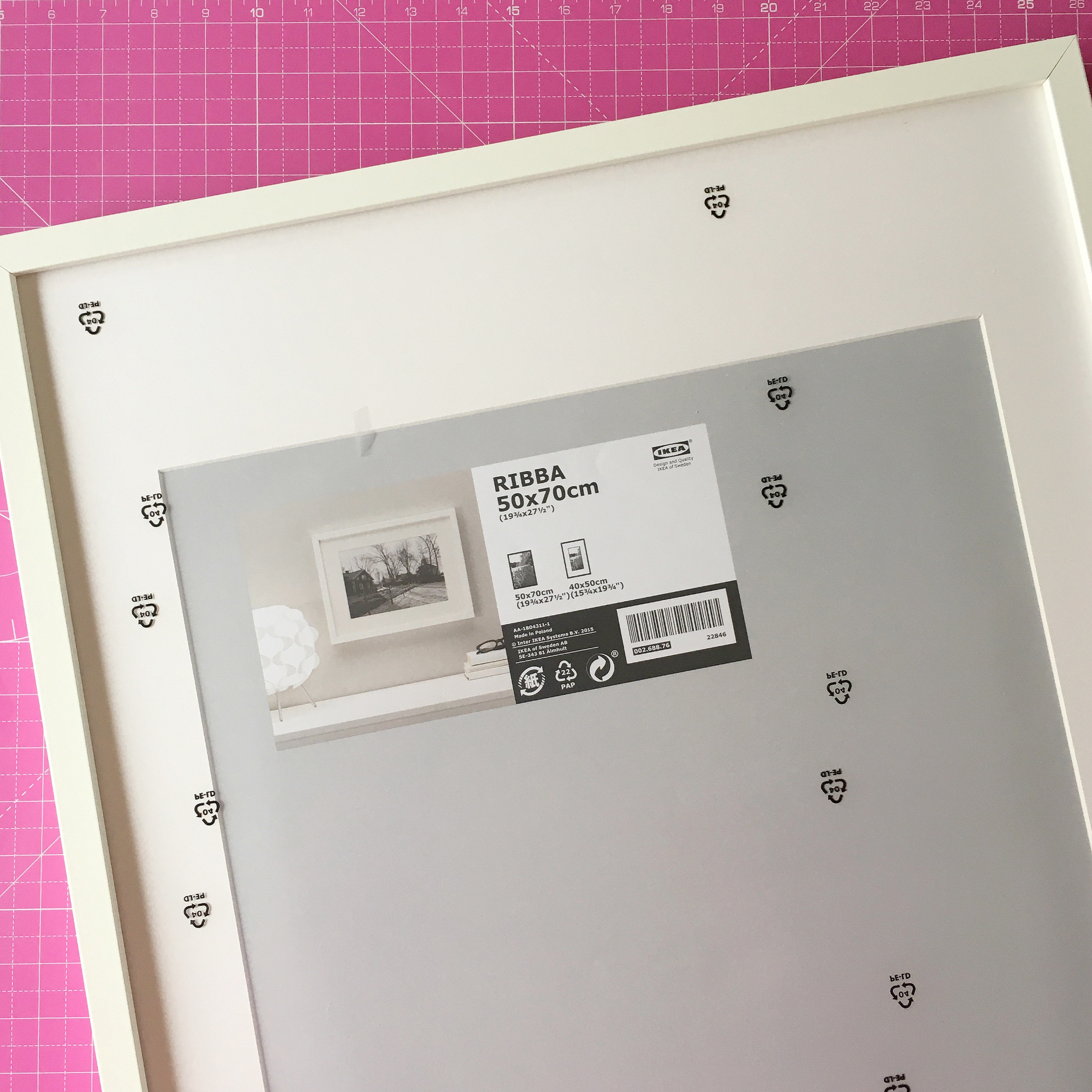 Manifesto Step 4 ribba frame | Hello! Hooray!