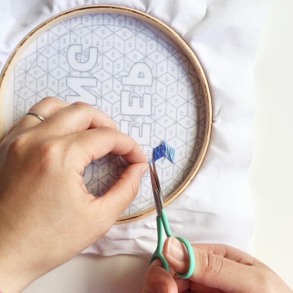 Keep Going stitching | hello! Hooray!
