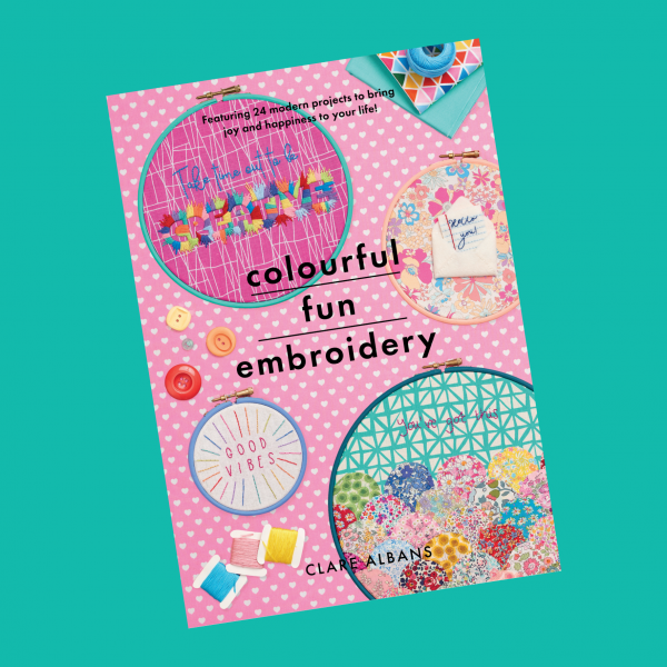 Colourful Fun Embroidery | Hello! Hooray!