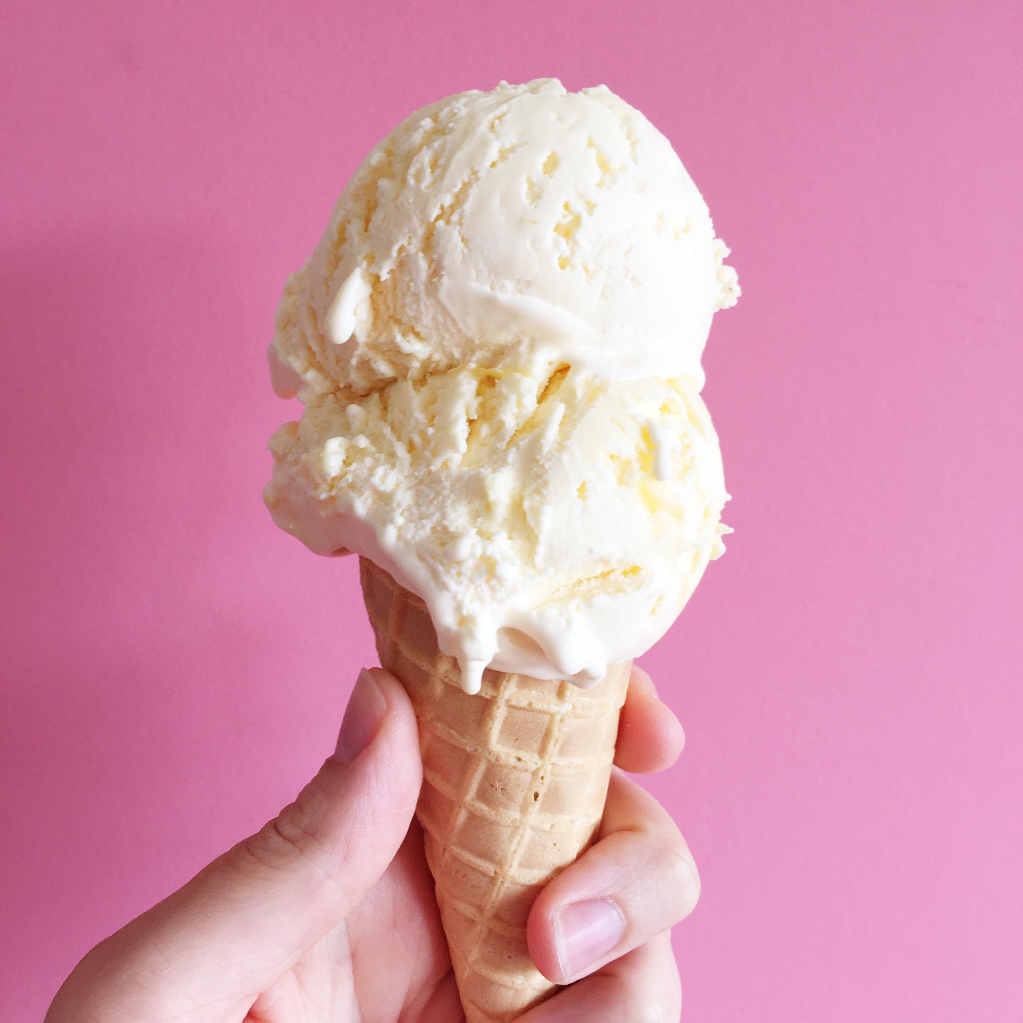 Lemon curd ice cream | Hello! Hooray!