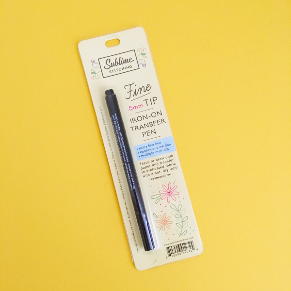 Black Sublime Stitching pen | Hello! Hooray!