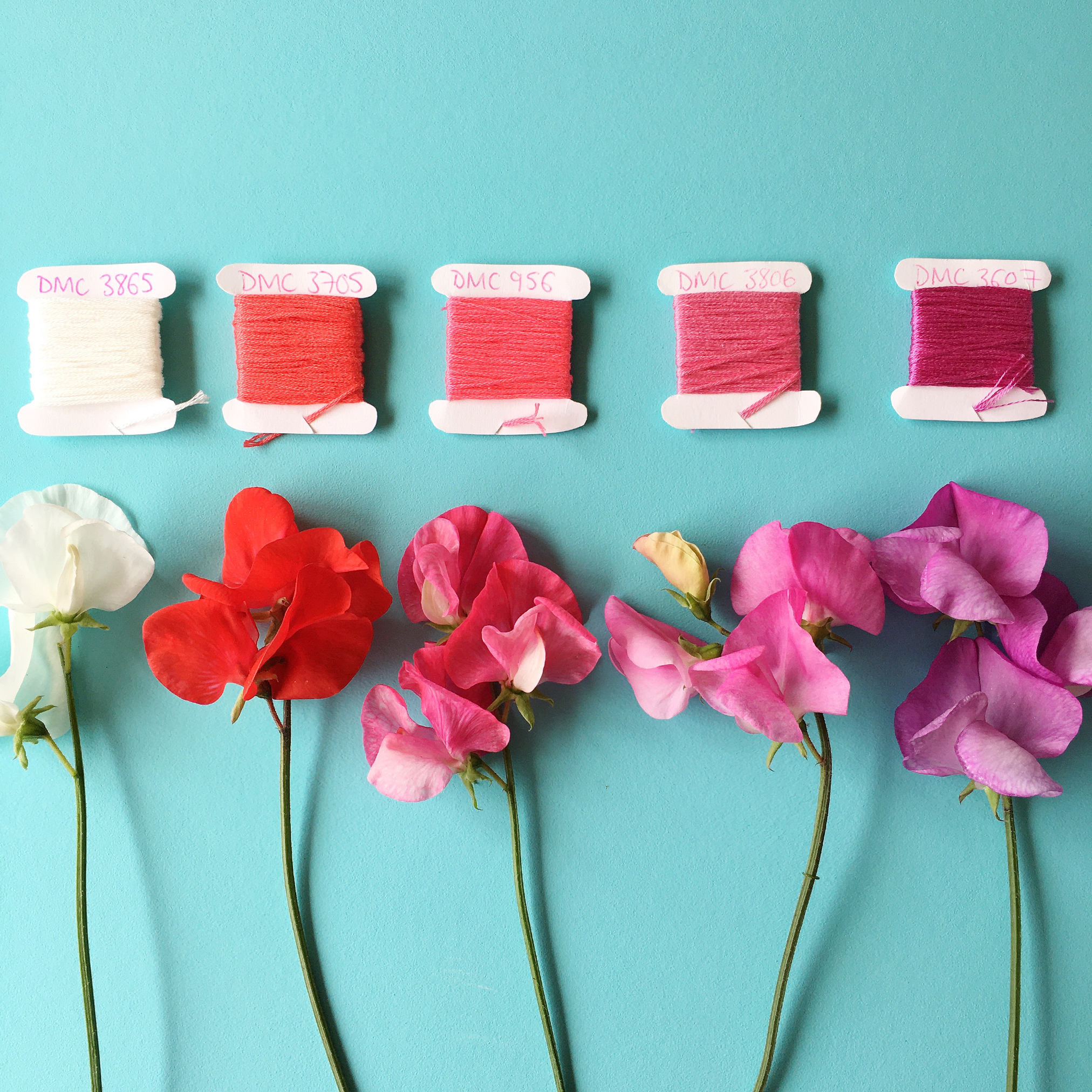 Crafty Colour Palette #5 colours 1 to 5 | Hello! Hooray!
