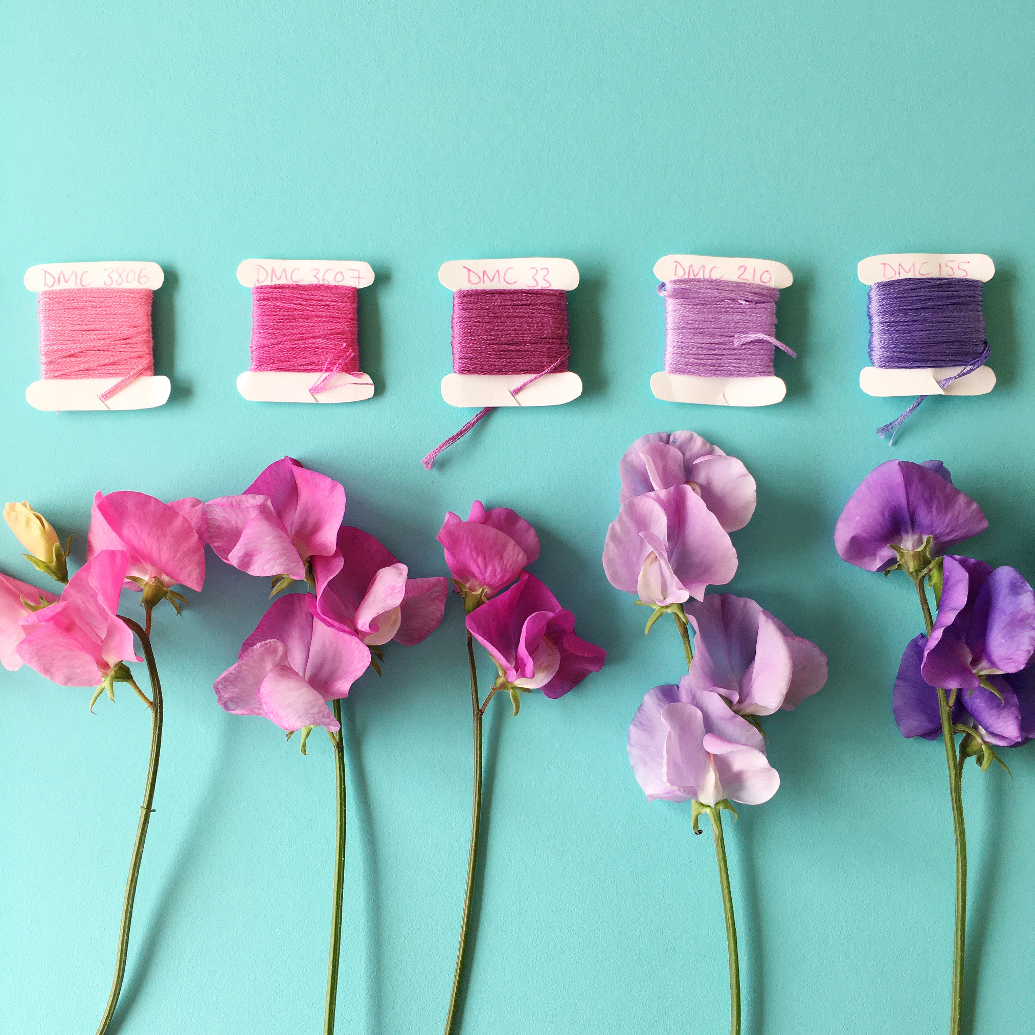 Crafty Colour Palette #5 colours 4 to 8 | Hello! Hooray!