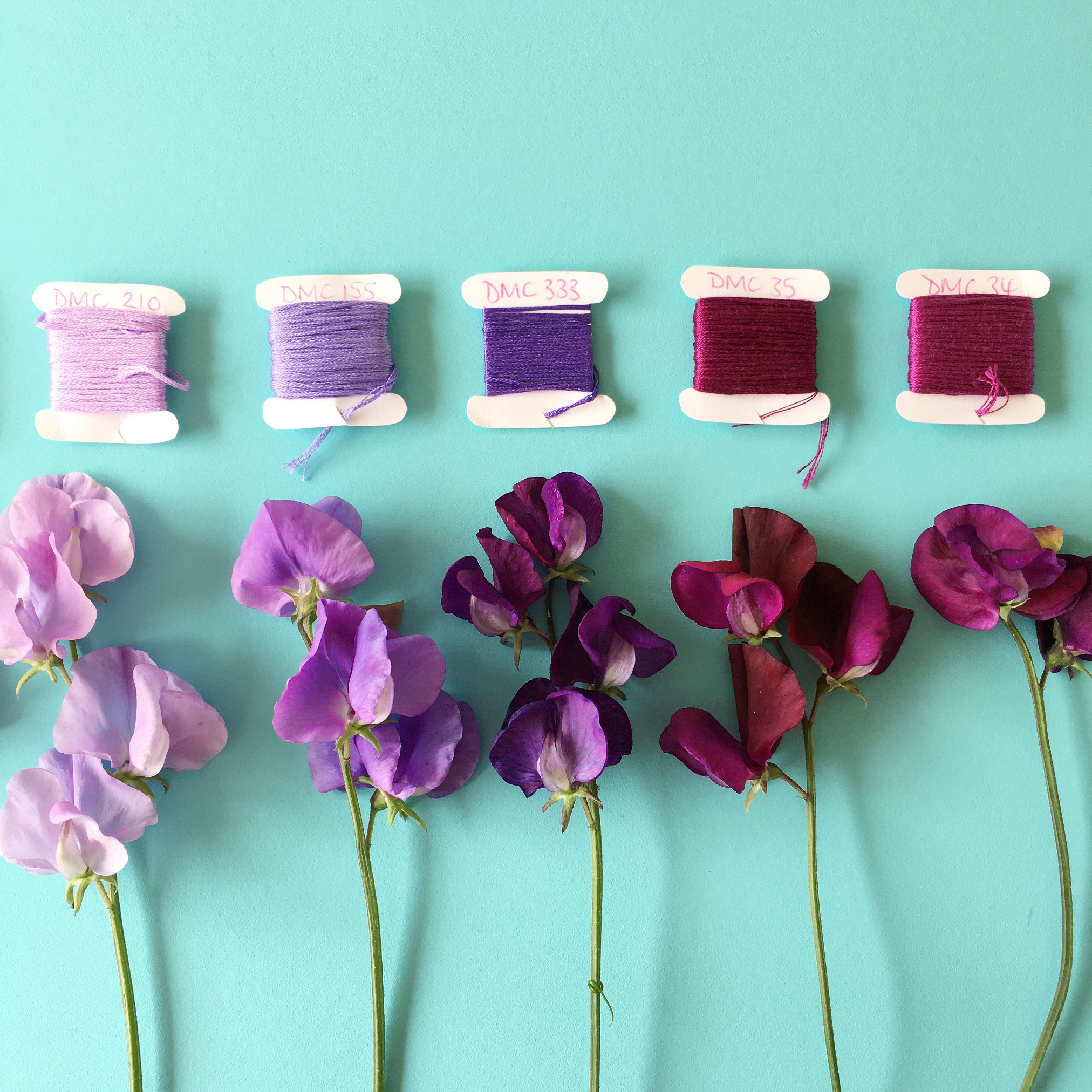 Crafty Colour Palette #5 colours 7 to 11 | Hello! Hooray!