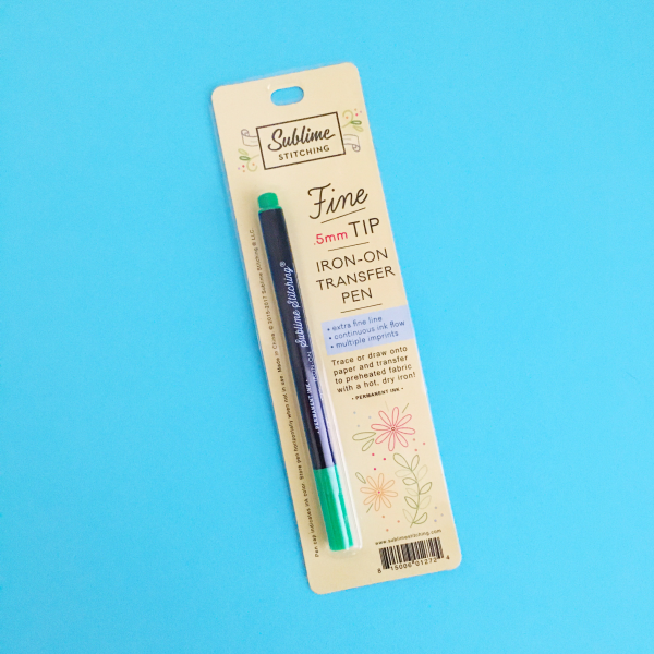 Green Sublime Stitching pen | Hello! Hooray!