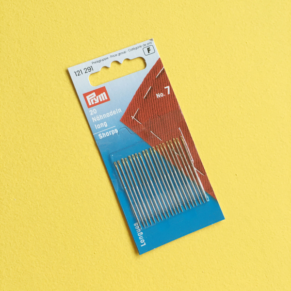 Size 7 sharps needles | Hello! Hooray!